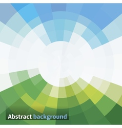 Abstraction sky and grass vector image