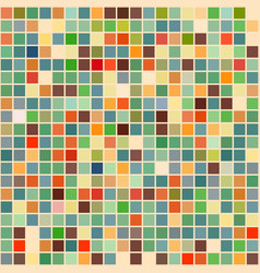 bright mosaic seamless pattern background square vector image