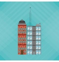 Building design building vector