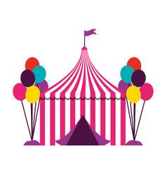 Fun fair carnival vector