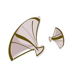 Icon scallop vector