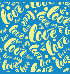 Romantic love pattern background vector