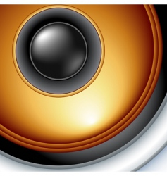 speaker detailed vector image