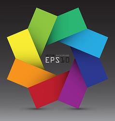 Colorful design element background eps10 vector image