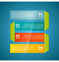 Modern Banner Background vector image vector image