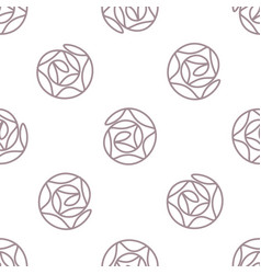 Abstract background simple seamless pattern vector