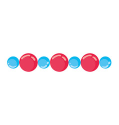 isolated spheres design vector image