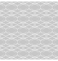 Pattern with grey-silver geometrical shapes vector image