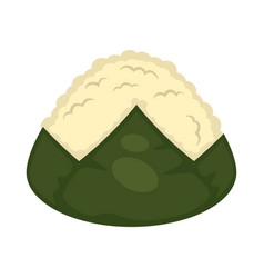 Sushi without topping vector