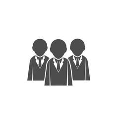 teamwork business logo vector image vector image