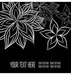 Back black 2 05 vector image vector image