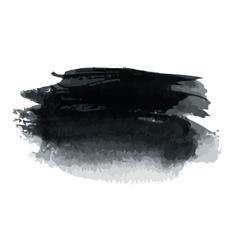 Black blot vector image