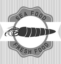 Sea food vector