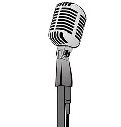 Microphone MG 2833 vector image