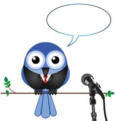 Businessman interview vector