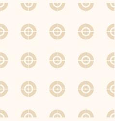 crosshair aim optical sight pattern vector image