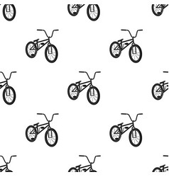 Cyclingextreme sport single icon in black style vector