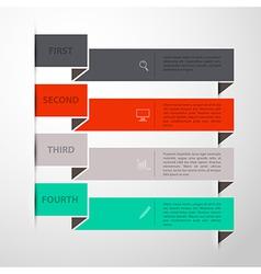 Design template back vector