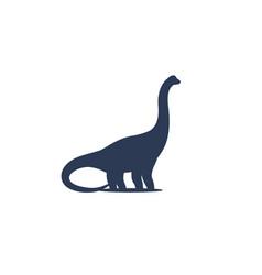 dinosaur sauropod icon vector image