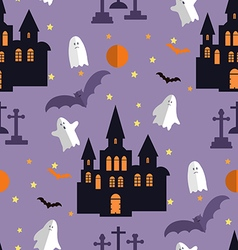 Halloween pattern21 vector image