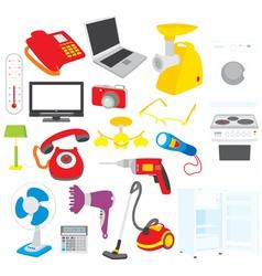Home appliances vector