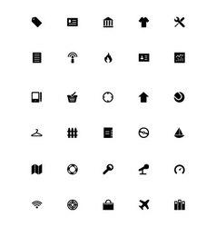 Mini Icons 8 vector