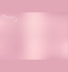 Pink gold background rose gold metallic texture vector