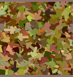 Seamless random arrow background pattern - from vector