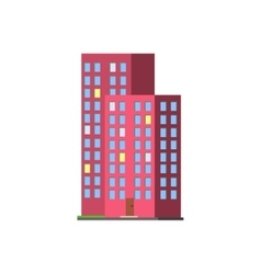 Tall Condominium Building vector