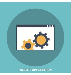 Website Optimization vector image