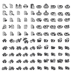 Set of universal web icons vector image vector image