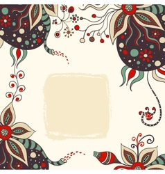 Abstract handdrawn background vector