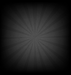 Black burst grunge background vector