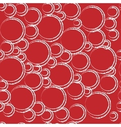Circle geometric seamless pattern vector image