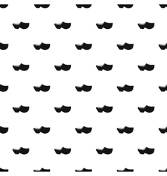 Clogs pattern simple style vector