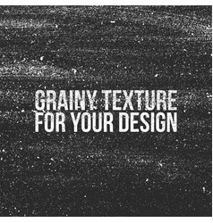 Grain grunge texture like a dust or shalkboard vector