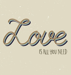 Love is all you need background vector