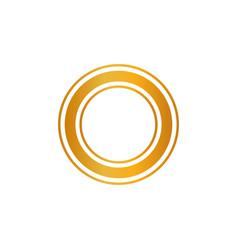 premium quality shiny golden label luxury badge vector image