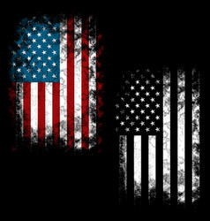 red white blue vector image