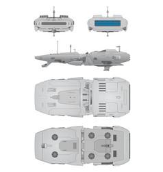 Spaceship positions vector