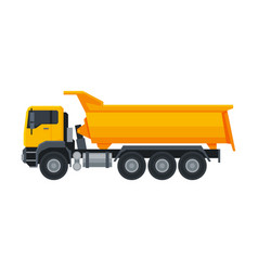 Truck construction machinery heavy special vector