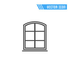 window icon sign symbol vector image vector image