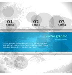 Modern Grunge Banner Banner vector image vector image