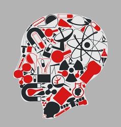 head of science vector image