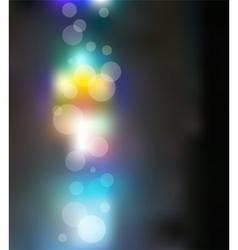 Light bokeh merry christmas background vector