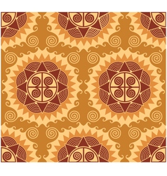 African style seamless pattern vector