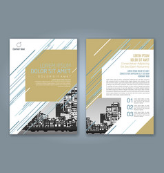Cover annual report 926 vector