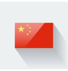 Flag china vector