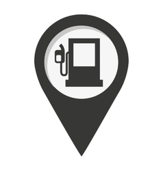 pin marker location icon vector image