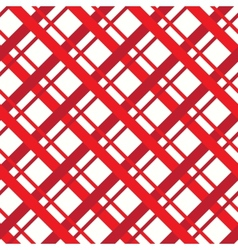 Red square seamless pattern vector image